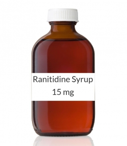 Ranitidine Syrup 15 mg/ml (Generic Prescription Zantac) - 473ml (16oz) Bottle