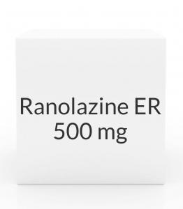 Ranolazine ER 500mg Tablets
