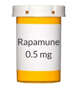 Rapamune 0.5mg Tablets