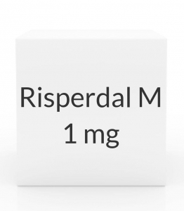 Risperdal M 1 mg Tablets - Pack of 28 Tablets