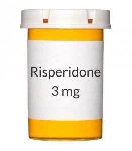 Risperidone 3mg Tablets (Generic Risperdal)