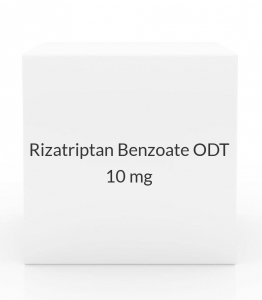 Rizatriptan Benzoate ODT 10mg Tablets (Generic Maxalt MLT) - 9 Tablet Pack