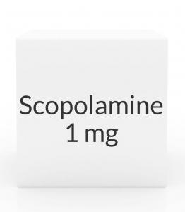 Scopolamine 1mg/3 Day Patch