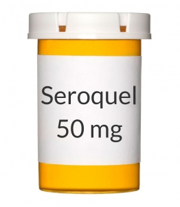 Seroquel 50mg Tablets