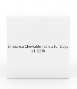 Simparica Chewable Tablets for Dogs- 11-22lbs (20mg) Orange- 3 Pack