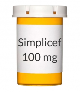 Simplicef 100 mg Tablets (100 Count)