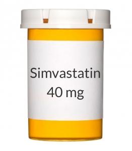 Simvastatin 40mg Tablets