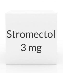 Stromectol 3mg Tablets - 20ct Box