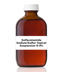 Sulfacetamide Sodium/Sulfur Topical Suspension 8-4% - 473ml Bottle