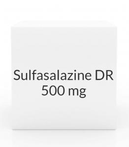 Sulfasalazine DR 500mg Enteric Coated Tablets (Greenstone)