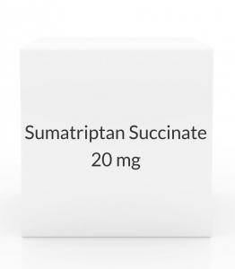 Sumatriptan Succinate 20 mg Nasal Spray - 6 Bottle Pack