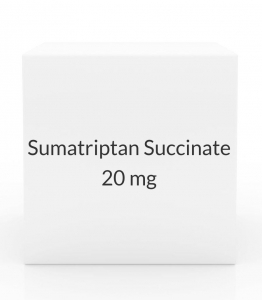 Sumatriptan Succinate 20 mg Nasal Spray - 6 Bottle Pack