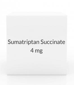 Sumatriptan Succinate 4mg/0.5ml Injection Kit (2 Cartridges)