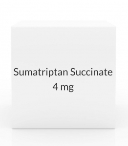 Sumatriptan Succinate 4mg/0.5ml Injection Kit (2 Cartridges)