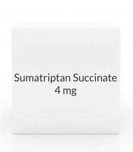 Sumatriptan Succinate 4mg/0.5ml Injection Kit (2 Cartridges) (Prasco)