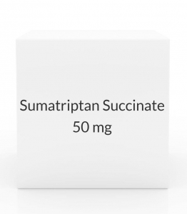 Sumatriptan Succinate 50mg Tablets (9 Tablet Pack)