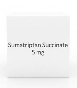 Sumatriptan Succinate 5mg Nasal Spray UNIT DOSE - 6 Dose Pack (Prasco)