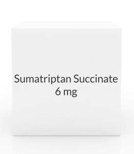 Sumatriptan Succinate 6mg/0.5ml Injection Kit (Prasco)