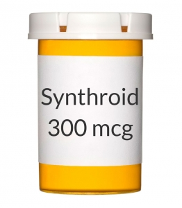 Synthroid 300mcg Tablets