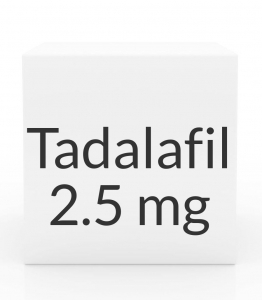 Tadalafil 2.5mg Tablets