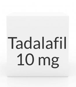 Tadalafil (Generic Cialis) 10mg Tablets