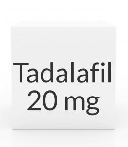 Tadalafil (Generic Cialis) 20mg Tablets