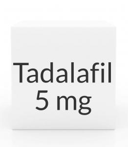 Tadalafil (Generic Cialis) 5mg Tablets