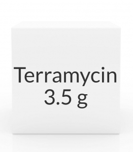 Terramycin (Oxytetracycline Hydrochloride) Antibiotic Ophthalmic Ointment-3.5gm