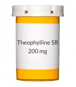 Theophylline SR 200mg Tablets