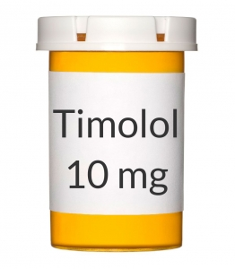 Timolol 10mg Tablets