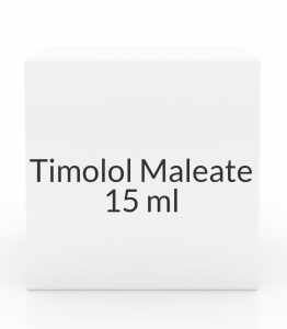 Timolol Maleate 0.25% Opthalmic Solution - 15 ml Bottle