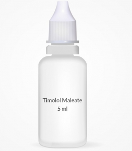 Timolol Maleate 0.5% Opthalmic Solution - 5 ml Bottle