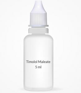 Timolol Maleate 0.5% Opthalmic Solution - 5 ml Bottle