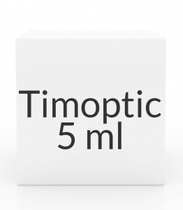 Timoptic 0.5% Opthalmic Solution- 5ml