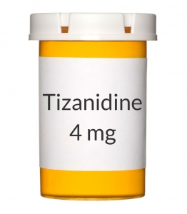 Tizanidine 4 mg Tablets (Generic Zanaflex)