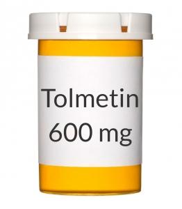 Tolmetin 600mg Tablets