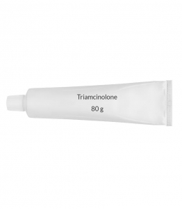 Triamcinolone 0.1% Cream (80 g Tube)