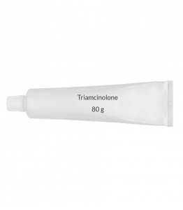 Triamcinolone 0.1% Cream (80 g Tube)