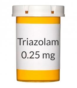 Triazolam 0.25 mg Tablets