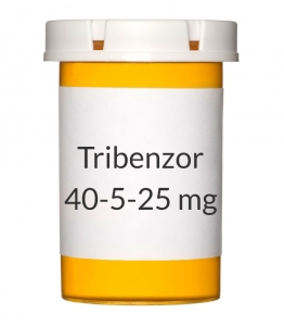 Tribenzor 40-5-25mg Tablets