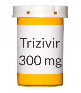 Trizivir 300-150-300mg Tablets - 60 Count Bottle