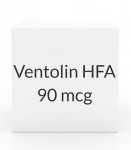 Ventolin HFA 90mcg Inhaler (60 Doses - 8g)