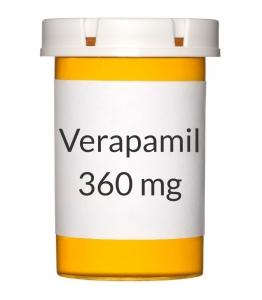 Verapamil 360mg ER Capsules