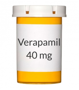 Verapamil 40 mg Tablets
