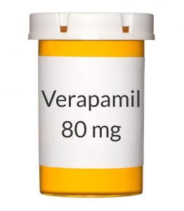 Verapamil 80 mg Tablets