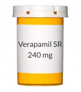 Verapamil SR 240mg Tablets (Generic Calan SR)