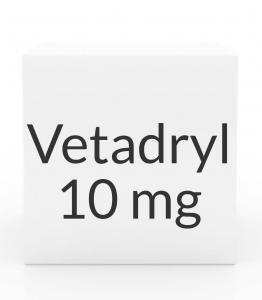 Vetadryl 10mg Diphenhydramine HCL Tablets- 30ct