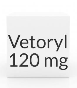 Vetoryl 120 mg Capsules- 30ct bottle
