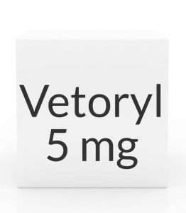 Vetoryl 5 mg Capsules- 30ct bottle