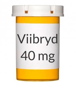 Viibryd 40mg Tablets